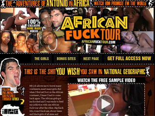 African Fuck Tour - The Fucked Up Adventures of Antonio in Africa!!