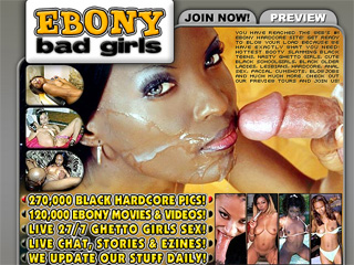 Ebony Bad Girls - horny black sista's hardcore